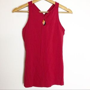 Lucy- Red Sports Racerback Tank Top
